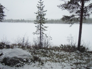 Dolvor wilderness in Swedish Lapland