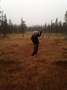 Hunting in Swedish Lapland