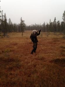 Hunting in Swedish Lapland