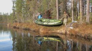 Going fishing in Swedish Lapland