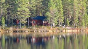 Wilderness cottage in Swedish Lapland