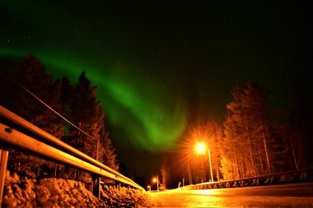 highway-northern-lights
